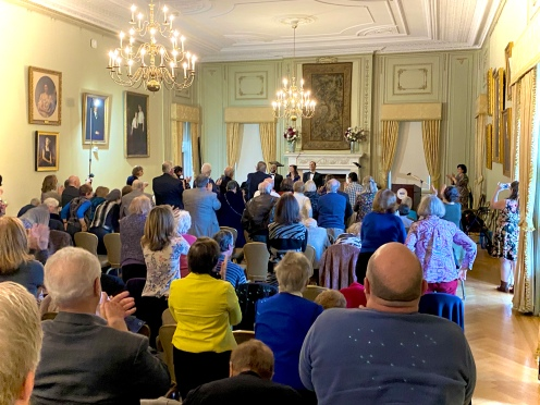 Standing Ovation at Opera at Florham's Bel Canto Concert